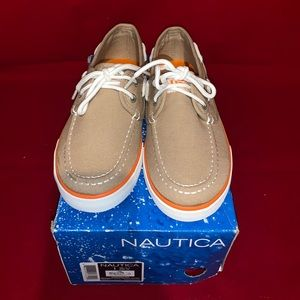 Nautica Boys Spinnaker Boat Shoes Size 1